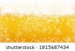 Beer Background. Craft Lager...