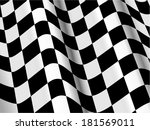 silk checked flag background