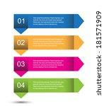 modern design template  can be... | Shutterstock .eps vector #181571909