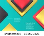 business square background.... | Shutterstock .eps vector #181572521