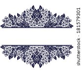 monochrome element to design... | Shutterstock .eps vector #181579301