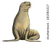 seal | Shutterstock .eps vector #181581317