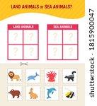 educational  game for children. ... | Shutterstock .eps vector #1815900047