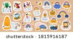 digital vector planner cute... | Shutterstock .eps vector #1815916187