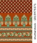 seamless set of border pattern... | Shutterstock .eps vector #1815975371