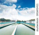 modern urban wastewater... | Shutterstock . vector #181601411