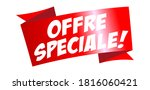 offre sp ciale   special offer... | Shutterstock .eps vector #1816060421