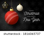 merry christmas and happy new... | Shutterstock .eps vector #1816065737