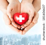 family health  charity and... | Shutterstock . vector #181606637