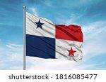 Panama National Flag Cloth...