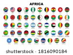 nation flag of africa country...   Shutterstock .eps vector #1816090184