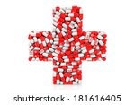 health care concept. medical... | Shutterstock . vector #181616405