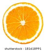One Slice Of Big Orange...