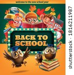 welcome to the new school year | Shutterstock .eps vector #1816211987