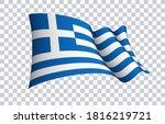 greece flag state symbol... | Shutterstock .eps vector #1816219721