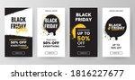 black friday sale social media... | Shutterstock .eps vector #1816227677
