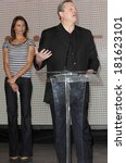 Small photo of Cameron Diaz, Al Gore at the press conference for Save Our Selves, SOS, Campaign for a Climate Crisis Launch, California Science Center, Los Angeles, February 15, 2007