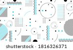 colorful geometric background.... | Shutterstock .eps vector #1816326371