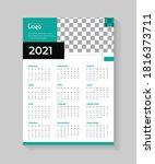 1 Page 2021 Best Wall Calendar...