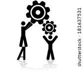 concept vector illustration...   Shutterstock .eps vector #181637531