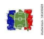 a soccer football illustration  ... | Shutterstock . vector #181650605