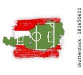 a soccer football illustration  ... | Shutterstock . vector #181650611