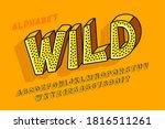 trendy 3d comical design ... | Shutterstock .eps vector #1816511261
