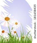 floral design   vector  | Shutterstock .eps vector #181658435