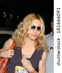 ������, ������: Madonna out and about