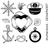 Set Of Hand Drawn Vector...
