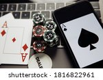 Poker Play Online. Poker Chips...