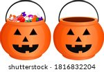 vector illustration of a jack o'... | Shutterstock .eps vector #1816832204