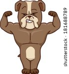 agile,agility,animal,anthropomorphic,art,brown,bulldog,canine,cartoon,clip,clipart,companion,cute,cutout,eps