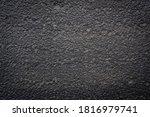 black wall stone texture surface | Shutterstock . vector #1816979741