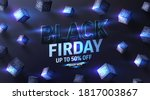 special offer black friday sale ... | Shutterstock .eps vector #1817003867