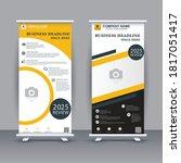 roll up banner design for...   Shutterstock .eps vector #1817051417
