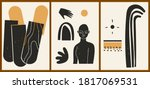 set of three abstract...   Shutterstock .eps vector #1817069531