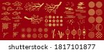 asia elements. chinese festive... | Shutterstock .eps vector #1817101877