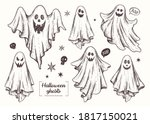 Ghosts. Halloween Animal....