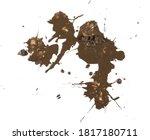 Mud  Wet Dirt Stains Texture...