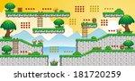 a set of vector game asset ... | Shutterstock .eps vector #181720259