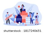 pharmacy and drugstore concept. ... | Shutterstock .eps vector #1817240651