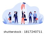 professional selection concept. ... | Shutterstock .eps vector #1817240711
