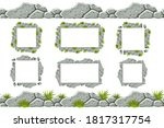 set of seamless constructor old ...   Shutterstock .eps vector #1817317754