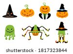 set of characters for the...   Shutterstock .eps vector #1817323844