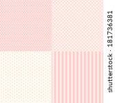 set of four popular primitive... | Shutterstock . vector #181736381