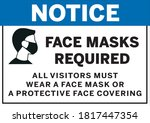 Face Mask Required For All...