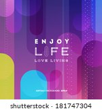 abstract background for design | Shutterstock .eps vector #181747304