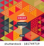 abstract background for design | Shutterstock .eps vector #181749719