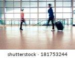 passenger in high speed rail... | Shutterstock . vector #181753244